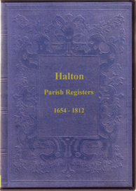 the parish registers of halton, northumberland