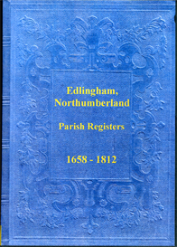 the parish registers of edlingham, northumberland.