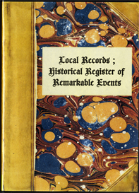 local records ; or historical register of remarkable events.
