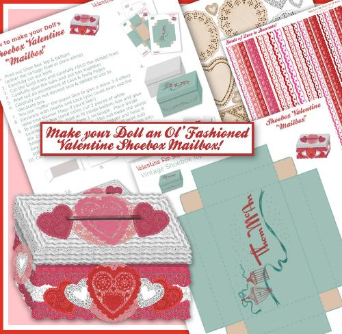 Second Additional product image for - American Girl Valentine Fun Stuff e-Booklet