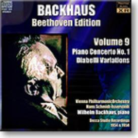 BACKHAUS Beethoven Edition Volume 9 - Concerto 1, Diabelli Variations, Stereo MP3 | Music | Classical