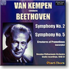 VAN KEMPEN conducts BEETHOVEN, mono MP3 | Music | Classical