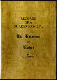 Records of a Quaker Family The Richardsons of Cleveland | eBooks | Reference