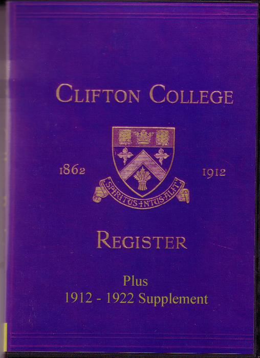 First Additional product image for - Clifton College Annals and Register