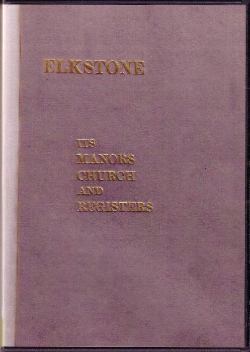 First Additional product image for - Elkstone its Manors, Church & Registers.