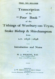 Transcription of the Poor Book of the Tithings of Westbury-on-Trym, Stoke Bishop and Shirehampton from 1656-1698. | eBooks | Reference