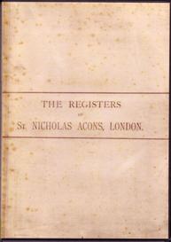 The Parish Registers of St Nicholas Acons, 1539-1812 | eBooks | Reference