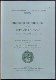 Register of the Freemen of the City of London In the reigns of Henry VIII and Edward VI. | eBooks | Reference