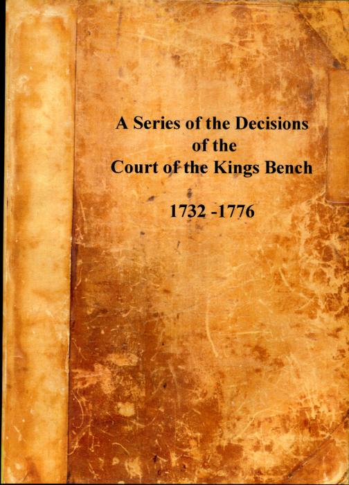 First Additional product image for - A Series of the Decisions of the Court of the King's Bench