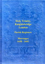 The Marriage Registers of the Chapel of the Holy Trinity, Knightsbridge, London. | eBooks | Reference