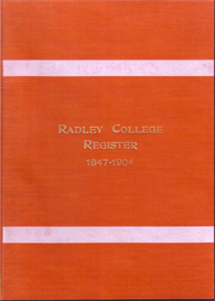 Radley College Register 1847 - 1904. | eBooks | Reference
