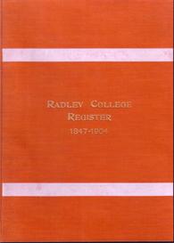 Radley College Register 1847 - 1904. | eBooks | Reference