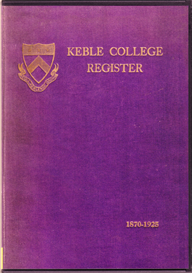 Keble College Register, Oxford. | eBooks | Reference