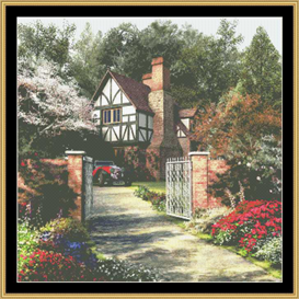 Adler Tree House - Cross Stitch Patterns | Crafting | Cross-Stitch | Other