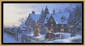 Christmas Card - Cross Stitch Pattern | Crafting | Cross-Stitch | Other