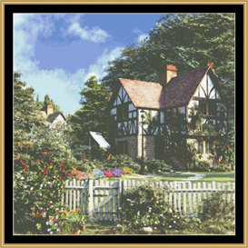 Roses House - Cross Stitch Patterns | Crafting | Cross-Stitch | Other