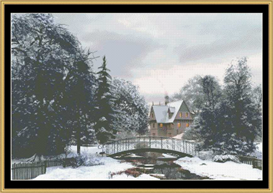Snow Sceen 4 - Cross Stitch Pattern | Crafting | Cross-Stitch | Other