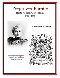 Ferguson Family History and Genealogy | eBooks | History