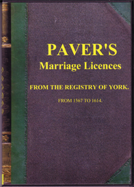 Paver's Marriage Licences. Collection I | eBooks | Reference