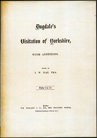 Dugdale's Visitation of Yorkshire, with additions. | eBooks | Reference