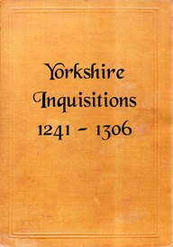 Yorkshire Inquisitions. Volumes I - IV. | eBooks | Reference