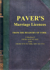 Paver's Marriage Licences Collection II | eBooks | Reference