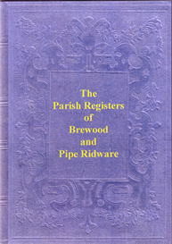 Brewood Parish Registers, 1562 to 1649. Pipe Ridware Parish Registers, 1571 to 1812. | eBooks | Reference