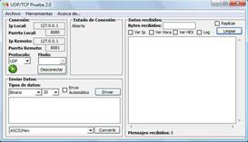 software para pruebas de sockets
