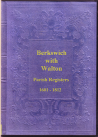 The Parish Registers of Berkswich (Baswich) with Walton, in Staffordshire.   eBooks   Reference