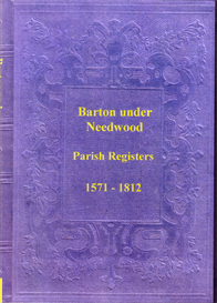the parish registers of barton under needwood, staffordshire. part i & part ii.