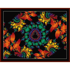 Fractal 338 cross stitch pattern by Cross Stitch Collectibles | Crafting | Cross-Stitch | Other