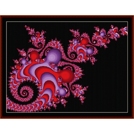 Fractal 340 cross stitch pattern by Cross Stitch Collectibles | Crafting | Cross-Stitch | Other