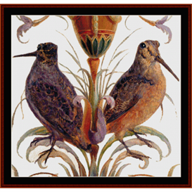 American Woodcock - Wildlife cross stitch pattern by Cross Stitch Collectibles | Crafting | Cross-Stitch | Wall Hangings