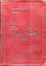 The Cotton Year Book 1920. | eBooks | Reference
