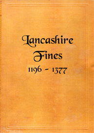 Lancashire Fines 1196 - 1377 | eBooks | Reference