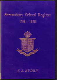 Shrewsbury School Register 1798 - 1898 | eBooks | Reference
