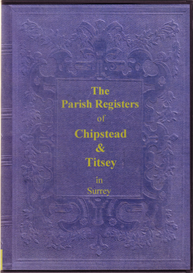 The Parish Registers of Chipstead & Titsey, in Surrey | eBooks | Reference
