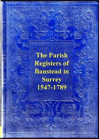 The Parish Registers of Banstead in Surrey. | eBooks | Reference