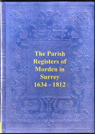 The Parish Registers of Morden in Surrey. | eBooks | Reference