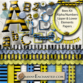 Download the OtherPaper Crafting Crafting | Granny Enchanteds Bee Kit