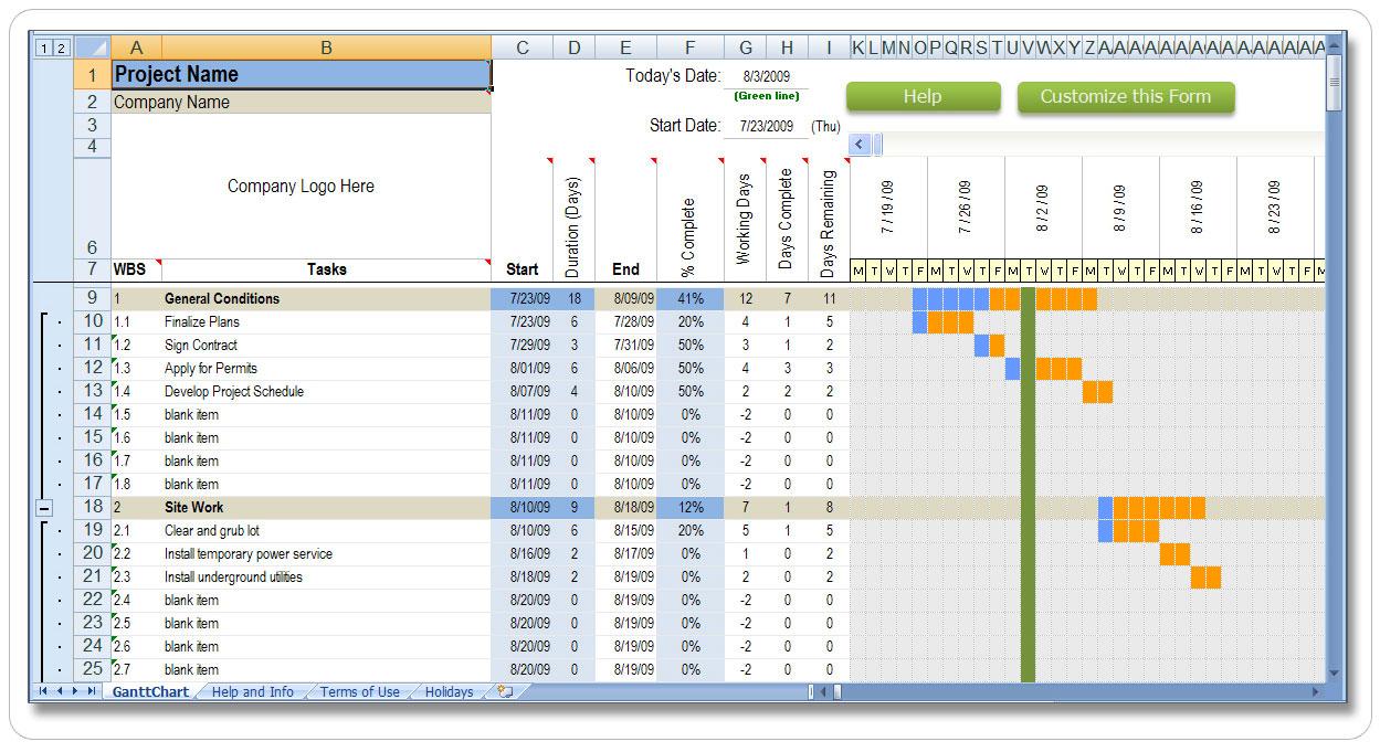 Workbooks skippers ticket workbook : Project Schedule Sample weekly time calendar template