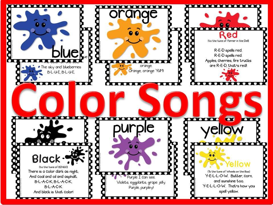 1706366 - Colours Song For Kindergarten
