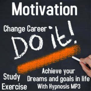 Motivation Hypnosis MP3 | Audio Books | Health and Well Being