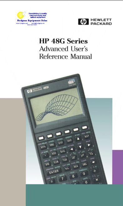 48g Hp Manual